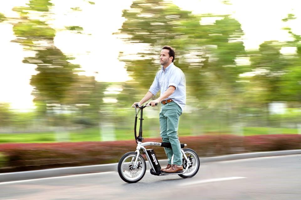 portable folding e-scooter 16 inch Skape One - patinete elétrico portátil Skape One aro 16 polegadas 250 W 36 V